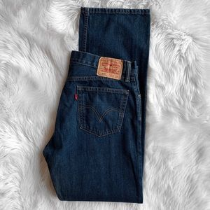 Levi's 505 Straight Fit Jeans 36X34
